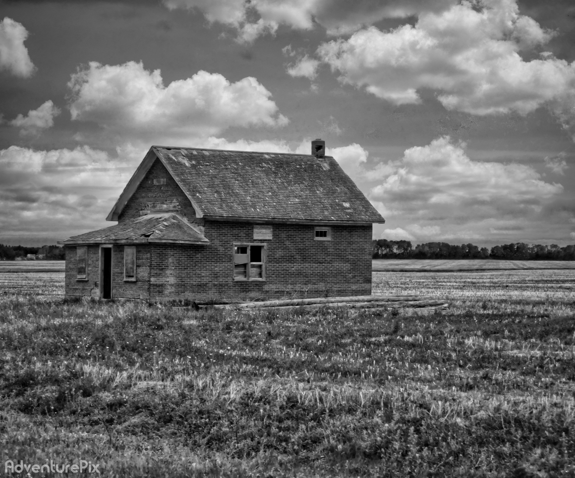 Abandoned old school house