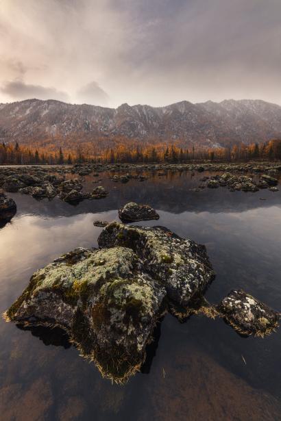 Autumn time at lava lake/Осень...
