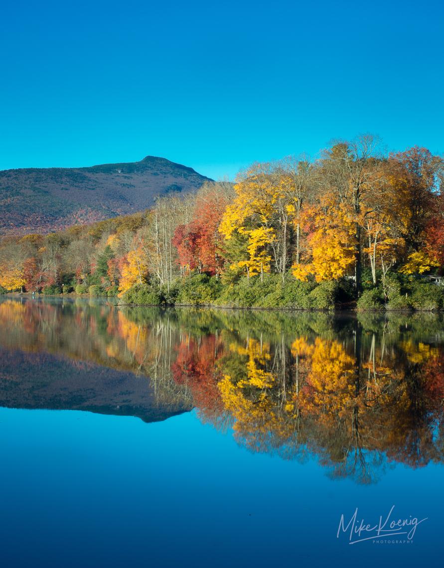 Price Lake Autumn Reflections