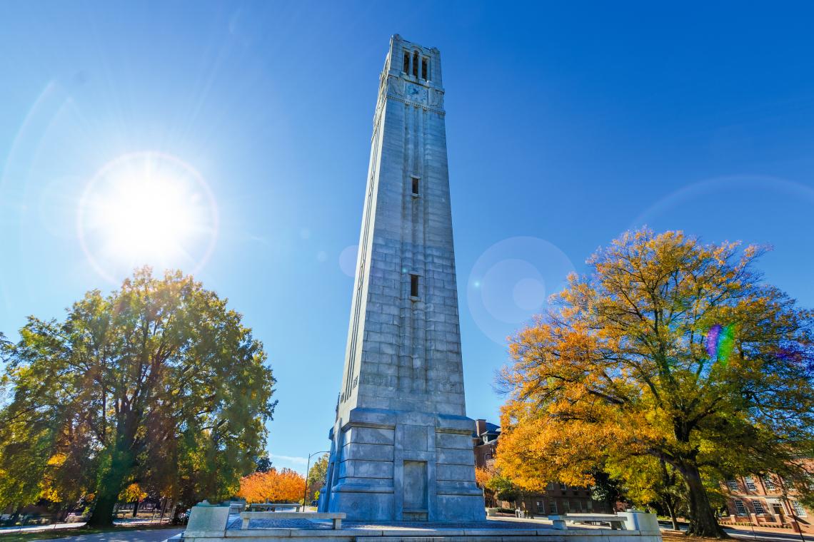 Memorial Belltower at NCSU