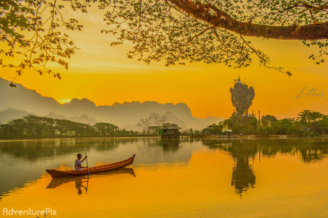 Golden Myanmar- Dawn of Hpa An