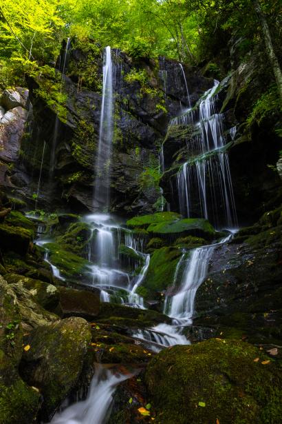 English Falls, Blue Ridge Park...