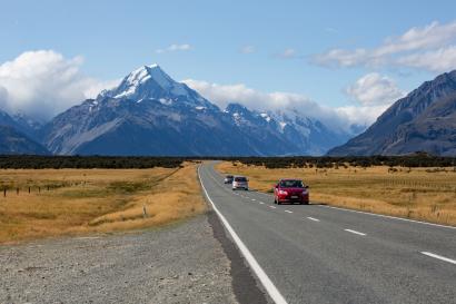 New Zealand Mount Cook
