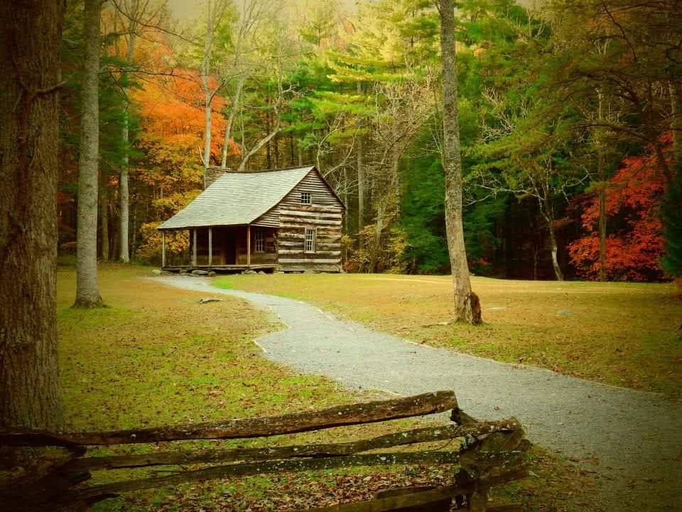 Fall Time In The Great Smoky Mountains