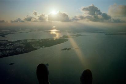 Paraglider Sunset