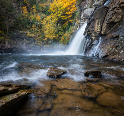 Linville Falls Making Waves Pl...