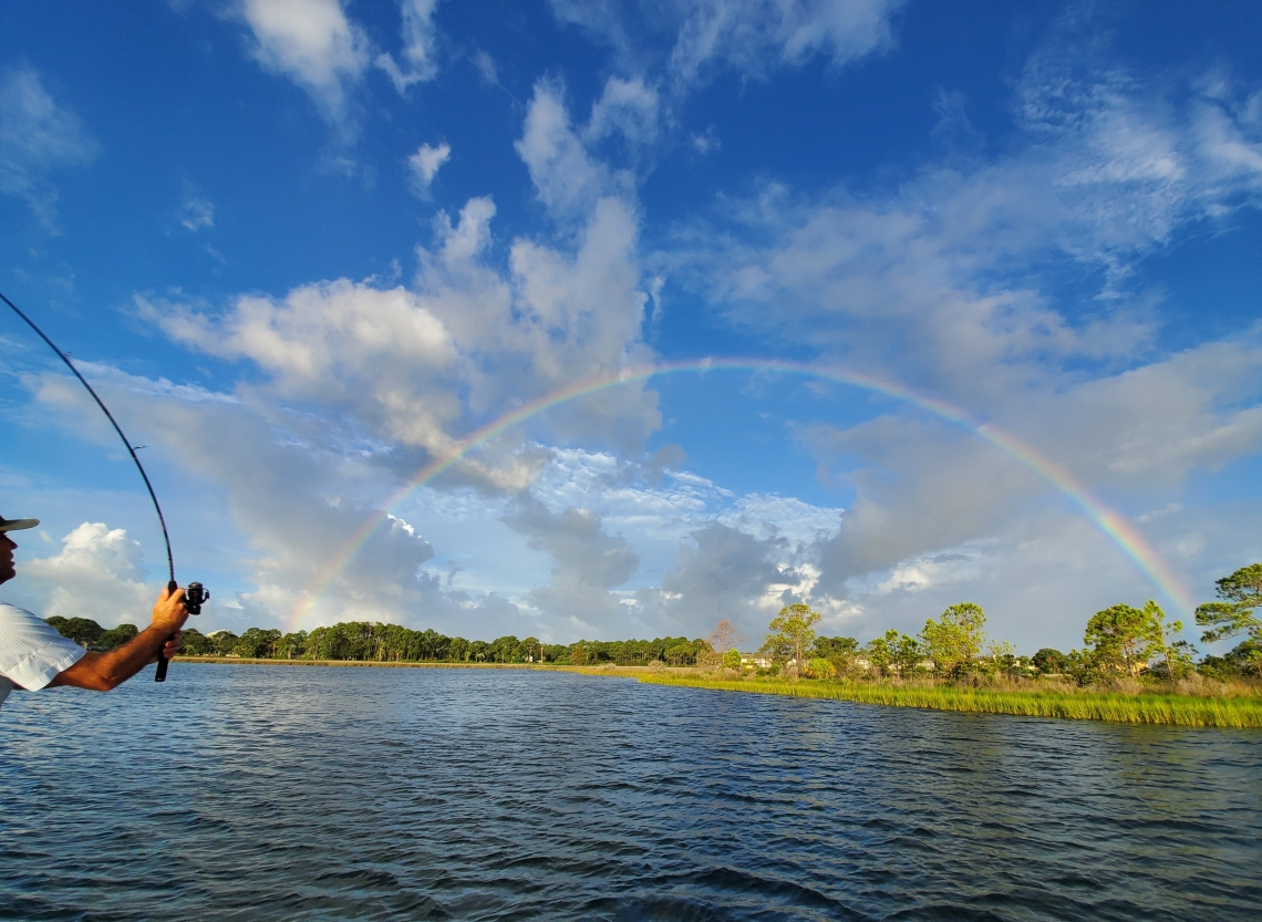 Fishing both ends of the rainbow