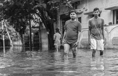 Drastic flood