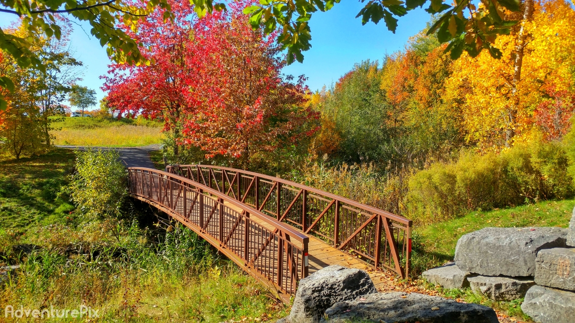 Fall Foot Bridge Cornwall