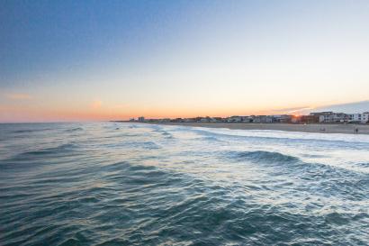 Wrightsville Beach at Sunset