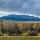 View of mount Abarash-Bash d. Baisakalova R-ka. Bashkiria Russia