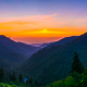 Sunset at Morton-GSMNP-Pano