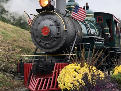 Fall at Tweetsie Railroad
