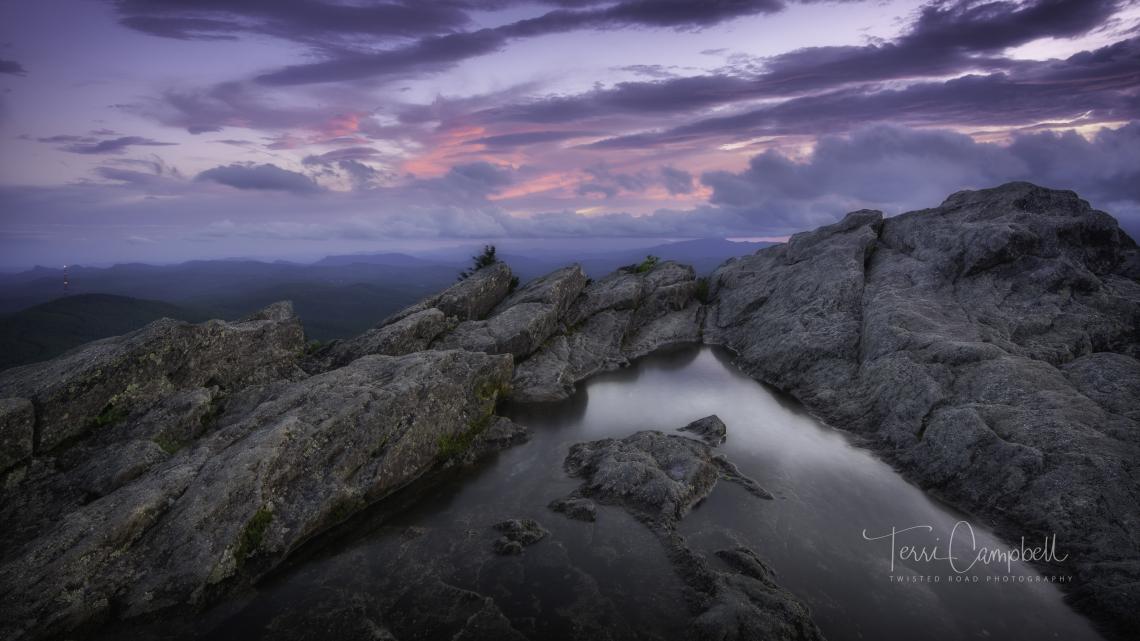 Sunset at Turtle Rock...