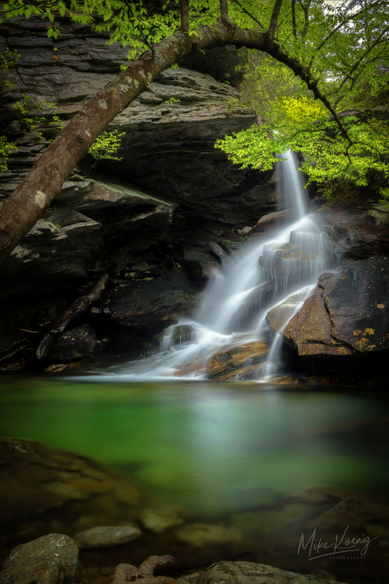 Yellow Fork Falls North Carolina