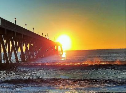 Sunrise at Wrightsville Beach