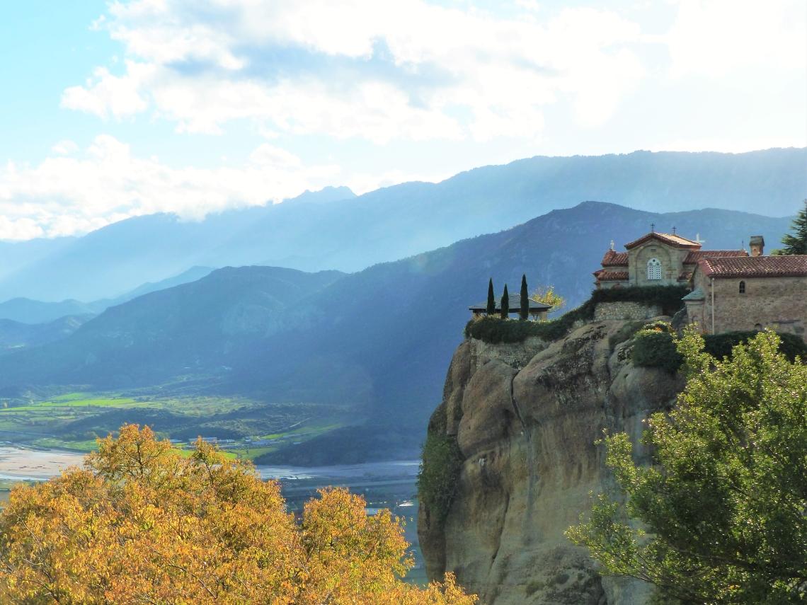 Greek Monastery in Meteora