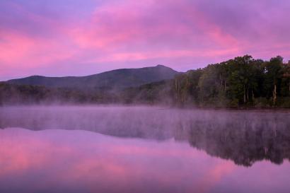 Sunrise at Price Lake