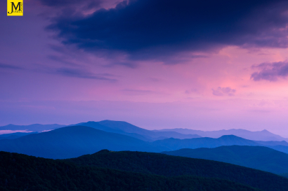 Blue Hour in the Roan Highland...