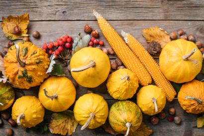 Yellow Pumpkins.